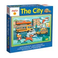 LEGNO CHUNKY SHAPES THE CITY R: 49905