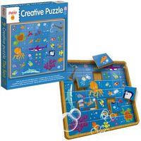 LEGNO CREATIVE PUZZLE THE SEA R: 49974