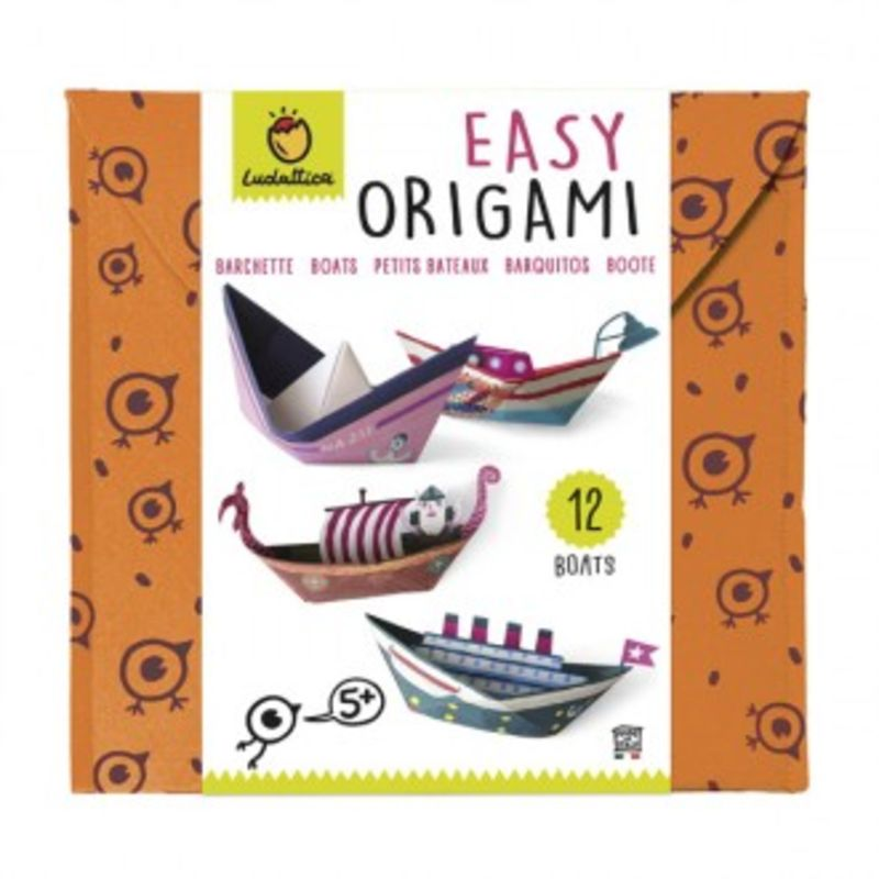 Origami Facil Barcos -