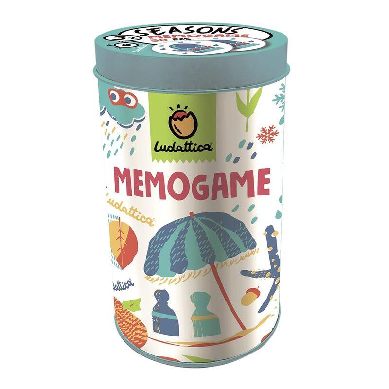 Juego De Memoria Memogame Season -