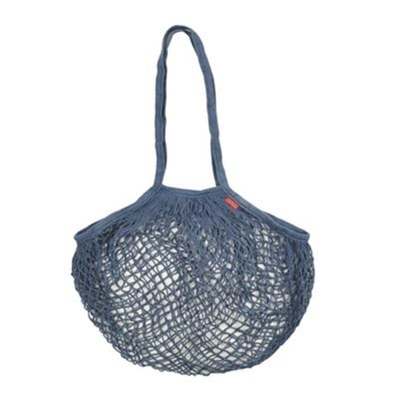 BAGS&GO COTTON MESH BAG BLUE