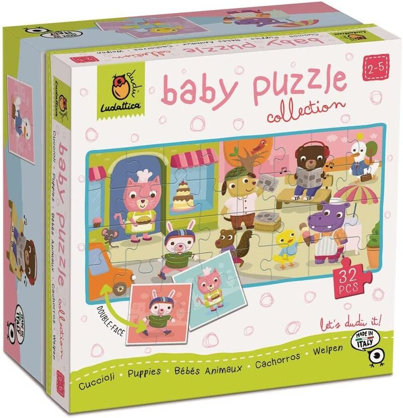 DUDU BABY PUZZLE COLLECTION - CACHORROS