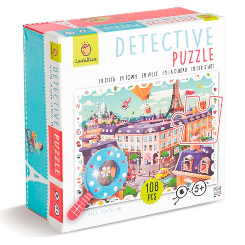 DETECTIVE PUZZLE 108 PCS - LA CIUDAD