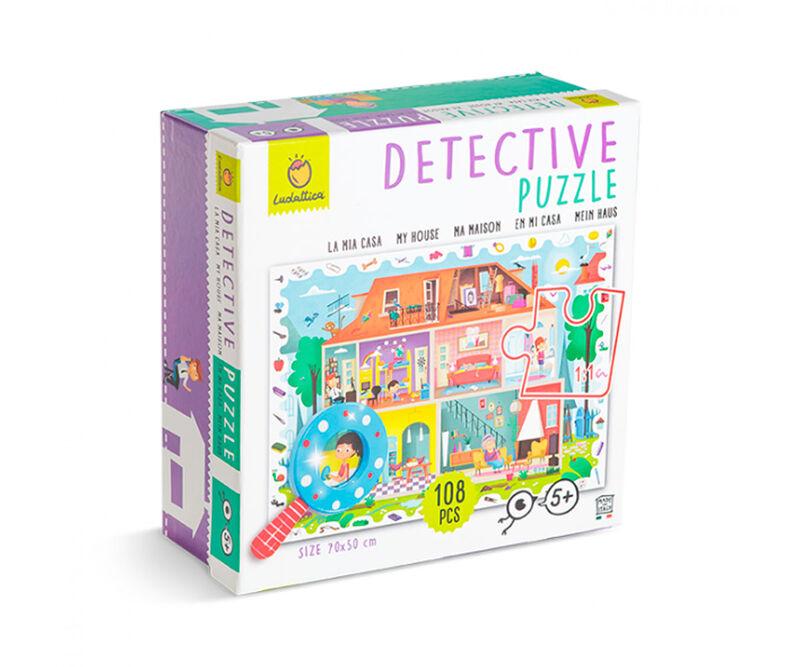DETECTIVE PUZZLE 108 PCS - EN MI CASA