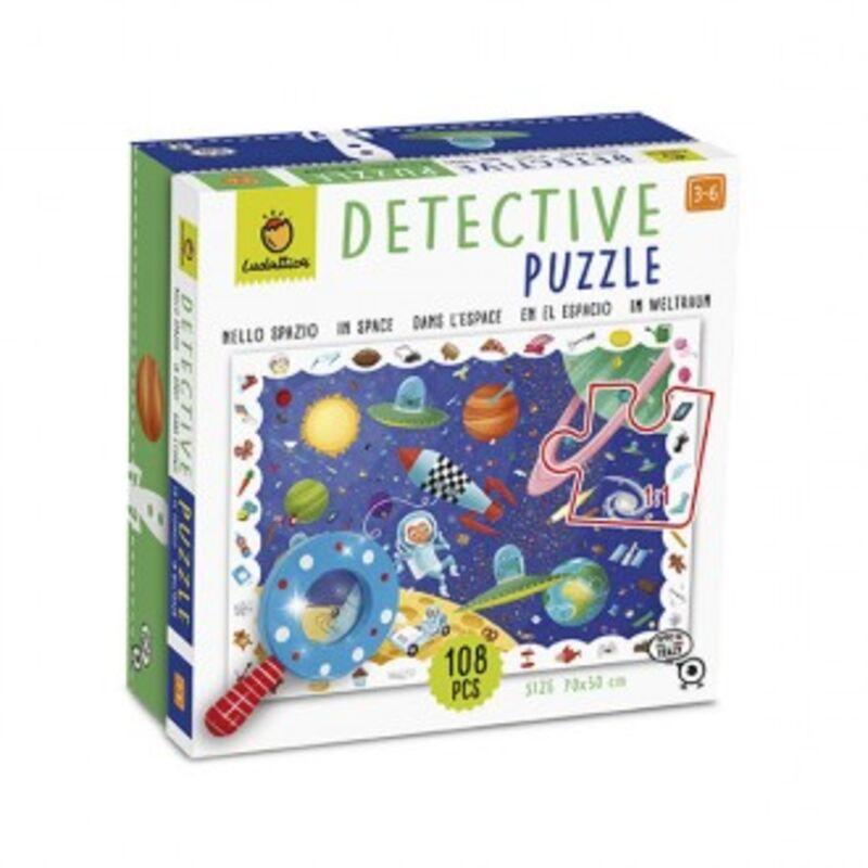 DETECTIVE PUZZLE 108 PCS - EN EL ESPACIO