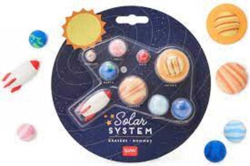SOLAR SYSTEM ERASERS SURTIDO 9