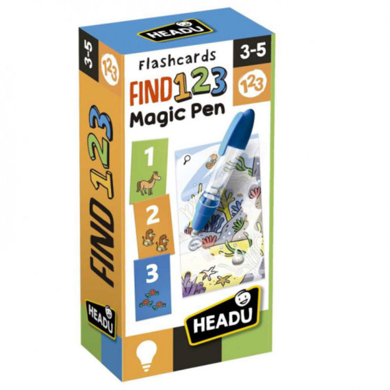 HEADU * FLASHCARDS FIND 123 MAGIC PEN
