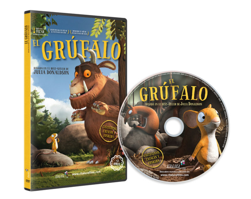 (DVD) GRUFALO (PISTA EN EUSKERA+CATALAN ) (+3 AÑOS)