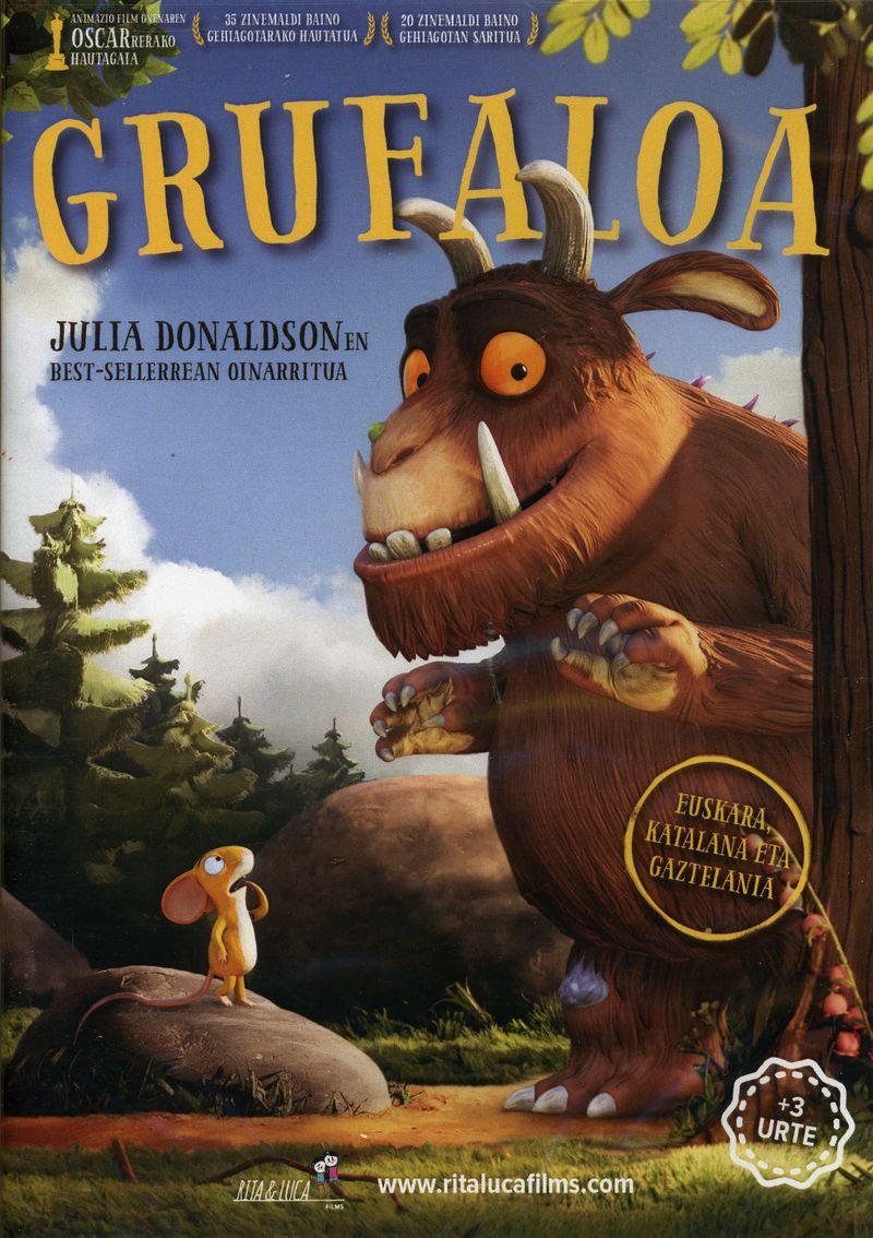 (DVD) GRUFALOA (+3 URTE)