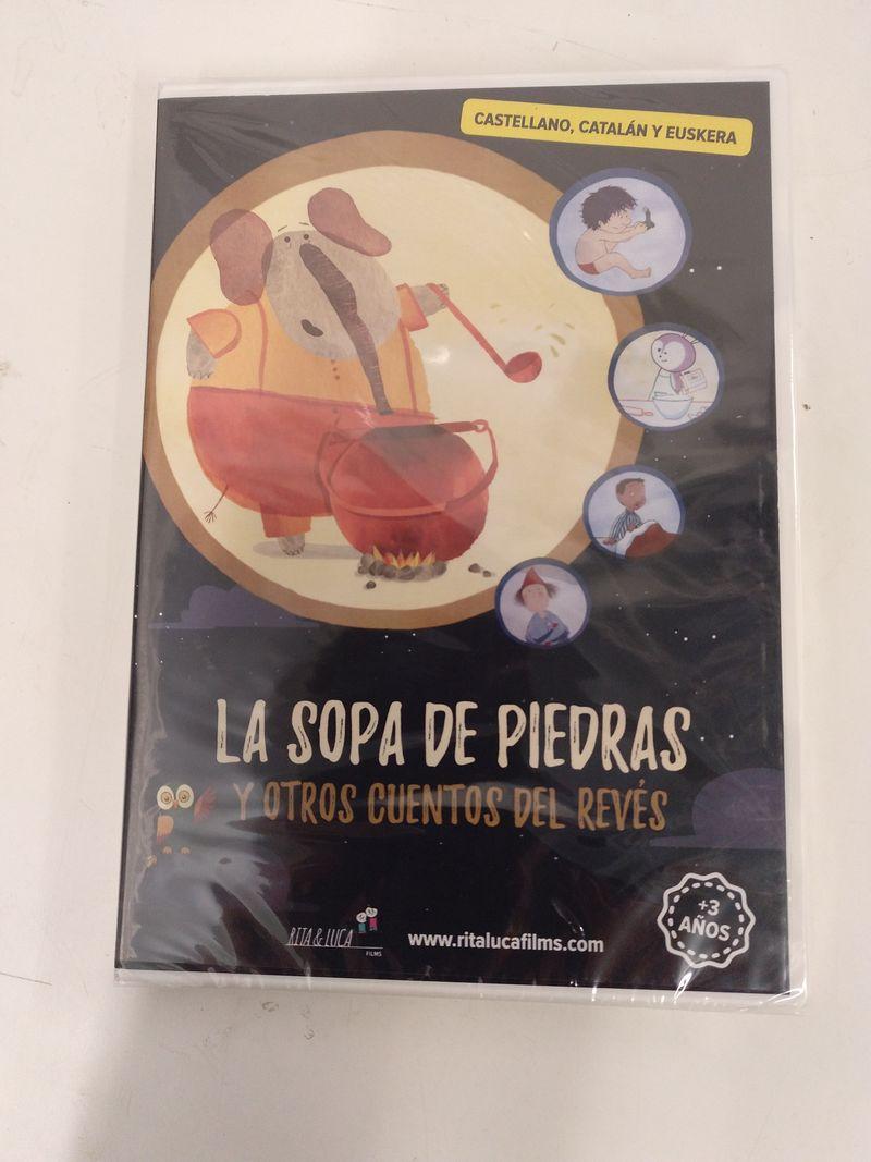 (dvd) la sopa de piedras y otros cuentos del reves (esp / cat / eusk) - Aa. Vv.