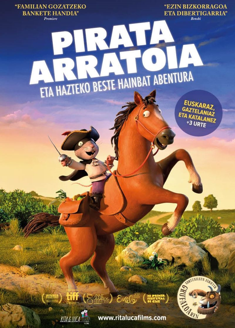 (DVD) PIRATA ARRATOIA ETA HAZTEKO BESTE HAINBAT ABENTURA (+3 URTE)