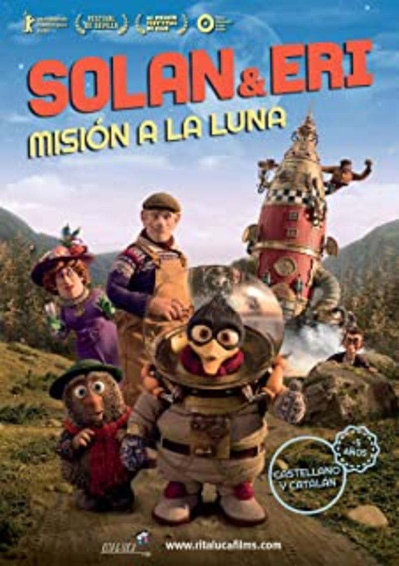 (DVD) SOLAN & ERI - MISION A LA LUNA