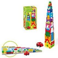 Cubos Apilables Coche R: 55202 -