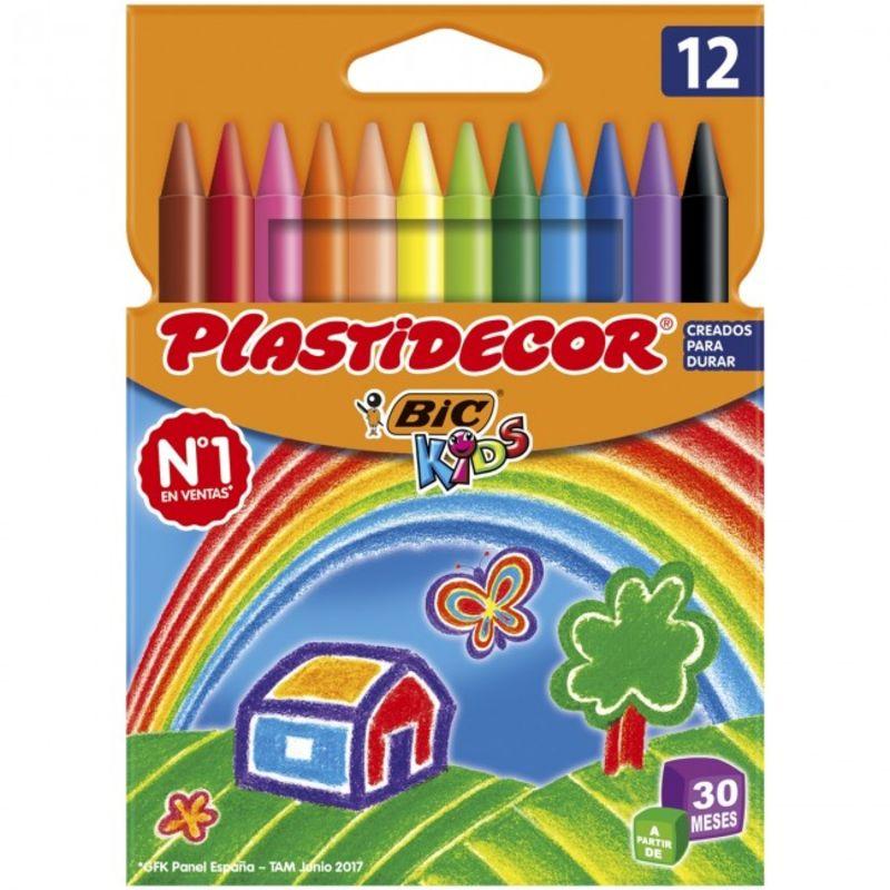 PLASTIDECOR 12 COLORES R: E5432C