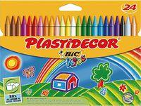 PLASTIDECOR 24 COLORES R: E5444C
