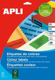 BLIS / 20H ETIQ. AMLLAS A4 R: 01599