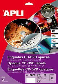 BLIS / 50 ETIQ. CD OPACAS R: 10601