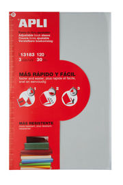 BLISTER FORRO LIBROS AJUSTABLE 300MM. 3UND. R: 13183