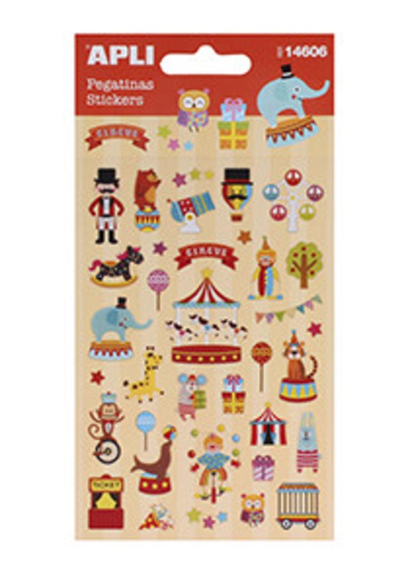Stickers * Pegatinas Circo R: 14606 -