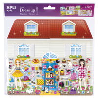STICKERS * DRESS UP ESCENARIO JUMBO CASA R: 16310
