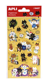 STICKERS * PEGATINAS GATITOS R: 16437