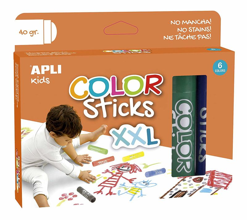 C / 6 COLOR STICKS XXL R: 17538