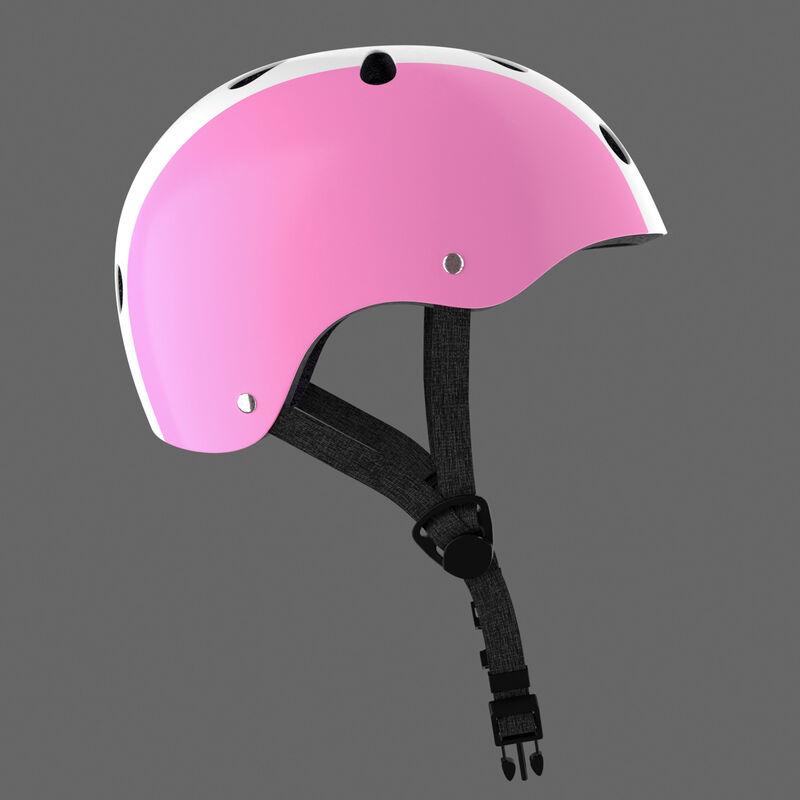 casco rosa -