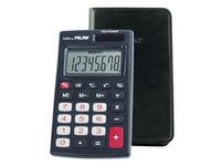 Calculadora Milan Negro C / Funda 8 Digitos R: 150208 -