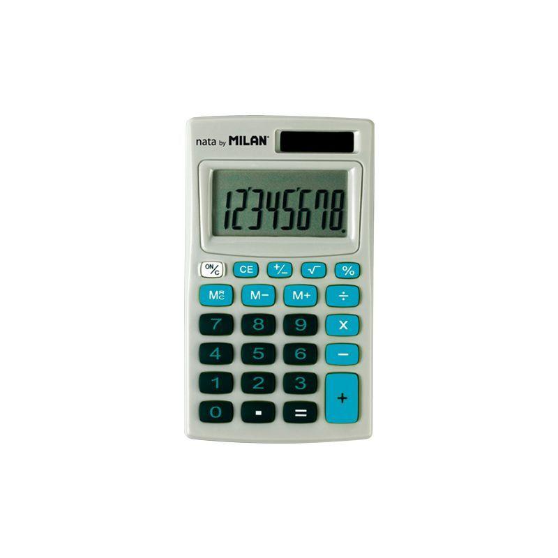 Calculadora Milan Azul C / Funda 8 Digitos R: 150208 -