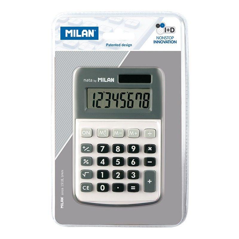 Calculadora Milan Gris 8 Digitos R: 150808 -