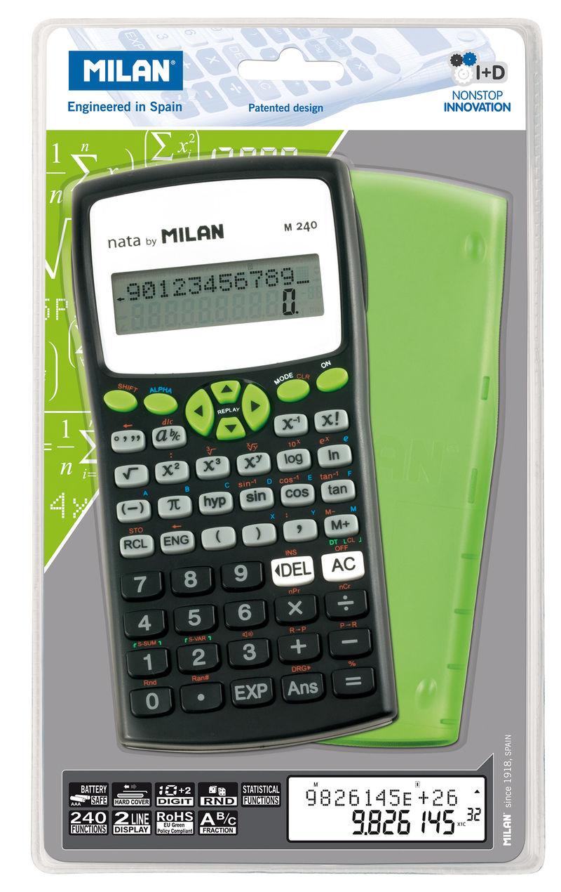 Calculadora Milan Cientifica M240 Verde R: 159110 -