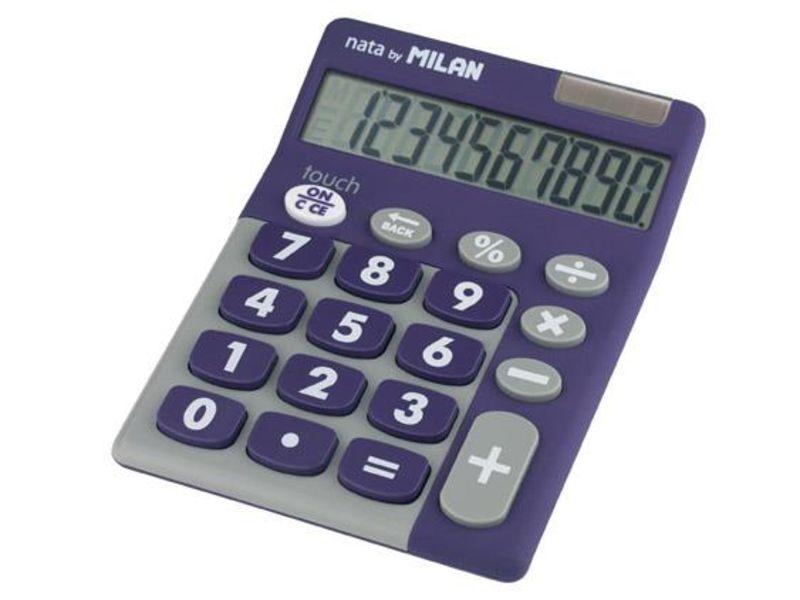 Calculadora Milan Touch Duo Lila 10 Digitos R: 150610 -