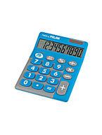 calculadora milan touch duo azul 10 digitos r: 150610 -