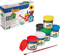 C / 6 BOTES PINTURA JOVIDECOR 55ml COLORES SURTIDOS