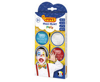 SET PARTY FACE PAINT 6 BOTES 8ml COLORES SURTIDOS + ACCESORIOS