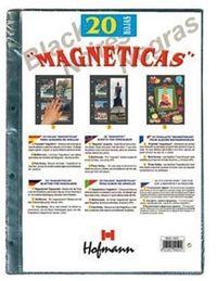 """Paq / 20 Hojas Fotos """"magneticas"""" Negras R: 98250 -"""