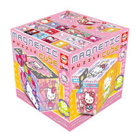 MAGNETIC PUZZLE 27 CUBOS HELLO KITTY R: 14383