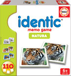 IDENTIC MEMO GAME * NATURA 110 CARTAS R: 14783