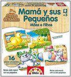 EDUCATIVOS MADERA * MAMA Y SUS PEQUES R: 14801