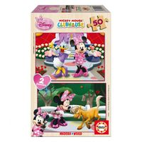 MINNIE * SUPER PUZZLE 2X50 R: 15280