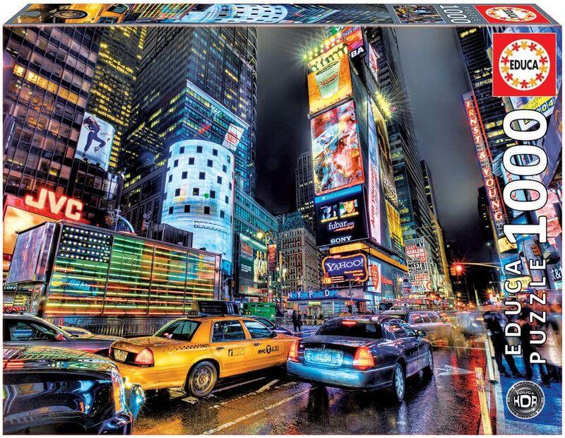PUZZLE 1000 * TIMES SQUARE, NUEVA YORK HDR R: 15525