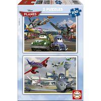 Aviones * Puzzle 2x100 R: 15567 -