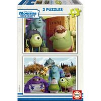 MONSTERS * PUZZLE 2X48 R: 15610