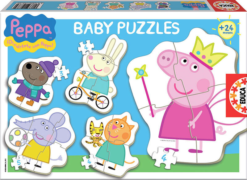 BABY PUZZLE * BABY PEPPA PIG
