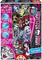 MONSTER HIGH * PUZZLE 400 GIGANTE R: 15633