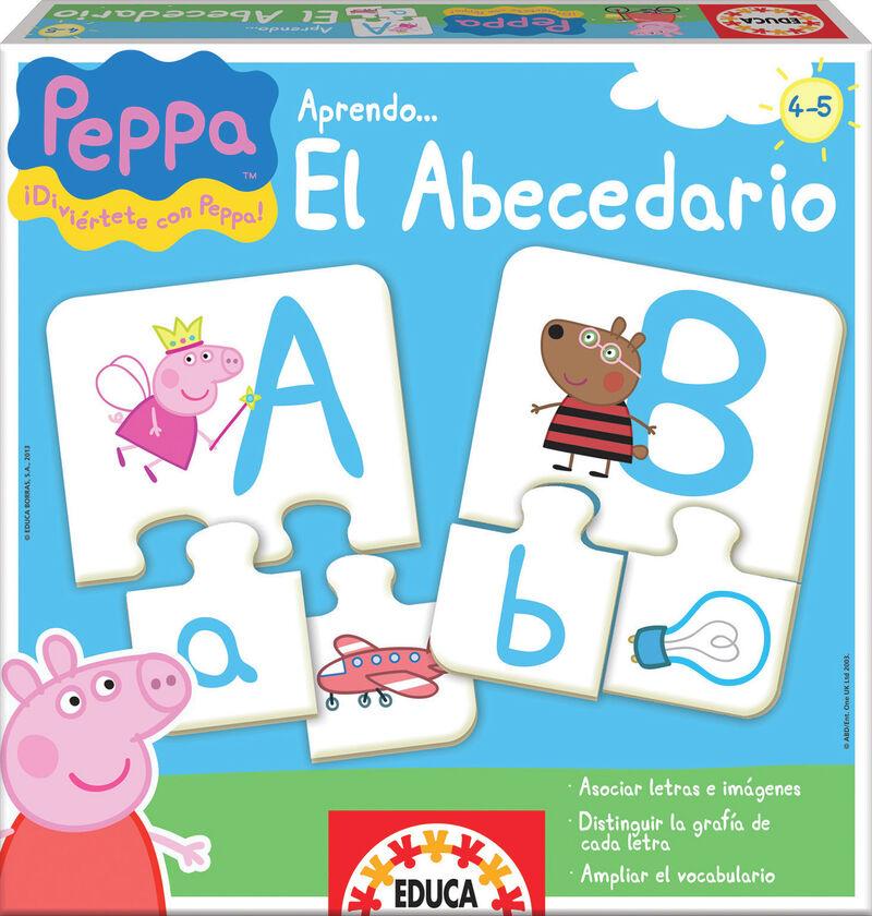 JUEGOS EDUCATIVOS PEPPA * APENDO EL ABECEDARIO