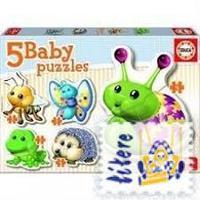 BABY PUZZLE * ANIMALES DEL BOSQUE R: 15892