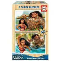 SUPER PUZZLE MADERA 2x50 * VAIANA R: 16950