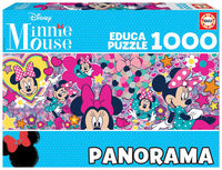 PUZZLE 1000 * MINNI MOUSE PANORAMA R: 17991