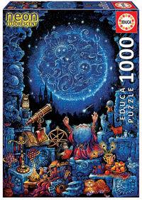 PUZZLE 1000 NEON * EL ASTROLOGO R: 18003